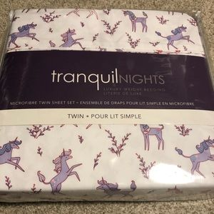 Other - Unicorn Twin Bedding